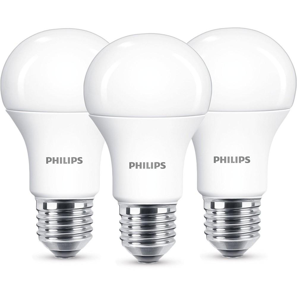 3er pack philips led birne bulb 13w 827 2700k warmwei. Black Bedroom Furniture Sets. Home Design Ideas